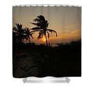 Mayan Paradise Shower Curtain