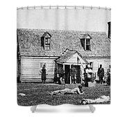 Mcclellans Headquarters Shower Curtain
