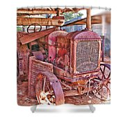 Mccormack Deering Tractor  Shower Curtain