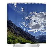 Mcgee Creek Canyon Shower Curtain