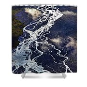 Mckinley Quicksilver Shower Curtain