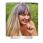 Meadow Fairy Shower Curtain