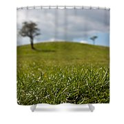 Meadow Shower Curtain by Semmick Photo