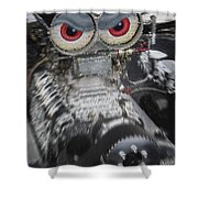 Mean Engine Shower Curtain
