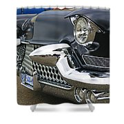 Mean Looking Grill Shower Curtain