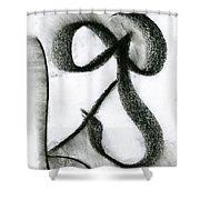Mean Spirit Shower Curtain