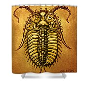 Mecha-trilobite 1 Shower Curtain