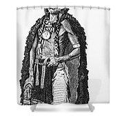 Medicine Elk Shower Curtain