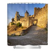 Medieval Carcassonne Shower Curtain