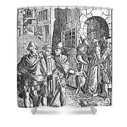 Medieval Prison, 1557 Shower Curtain