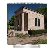 Meditation Chapel  Shower Curtain