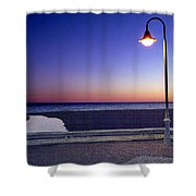 Mediterranean Sea At Motril Shower Curtain