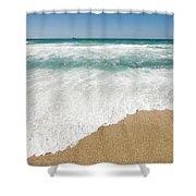 Mediterranean Shore Shower Curtain