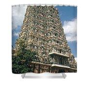 Meenakshi Temple Shower Curtain