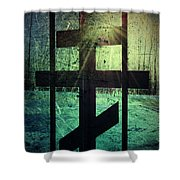 Meet At The Gate Shower Curtain