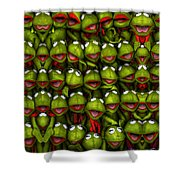 Meet The Froggers Shower Curtain