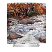 Meeting Of The Waters Shower Curtain