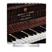 Mehlin And Sons Piano Shower Curtain