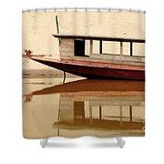 Mekong Reflection 2 Shower Curtain