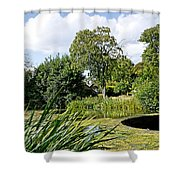 Melbourne Pool And Weir Shower Curtain