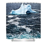 Melting Iceberg Shower Curtain