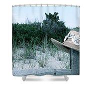 Memories Of Sea Isle Shower Curtain