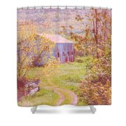 Memories Of The Farm Shower Curtain