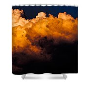Menacing Cloud Shower Curtain