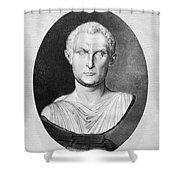 Menander (343-291 B.c.) Shower Curtain by Granger