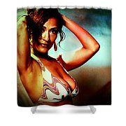 Mennail Shower Curtain