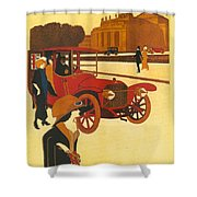 Mercedes Daimler Shower Curtain