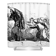 Merchant Of Venice Shower Curtain