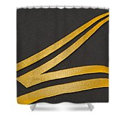 Merge Shower Curtain by Paul Wear