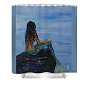 Mermaid Magic Shower Curtain