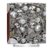 Merry Christmas V3 Shower Curtain