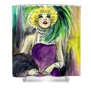 Merry Widow Shower Curtain
