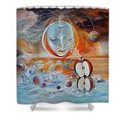 Meru Shower Curtain