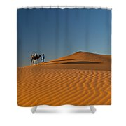 Merzouga, Morocco Shower Curtain