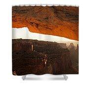 Mesa Arch First Light Shower Curtain