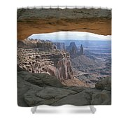 Mesa Arch In Utahs Canyonlands National Shower Curtain