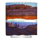 Mesa Arch Shower Curtain