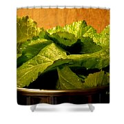 Mess Of Greens Shower Curtain