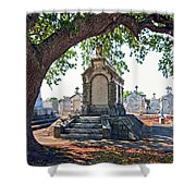 Metairie Cemetery Shower Curtain