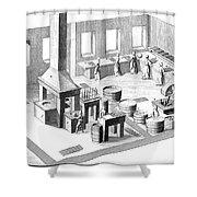 Metalworker, 18th Century Shower Curtain