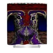 Metamorphosis Shower Curtain by Christopher Gaston