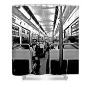 Metro Ride Shower Curtain