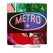 Metro Star Shower Curtain