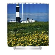 Mew Island, County Down, Ireland Shower Curtain