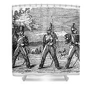 Mexican American War, 1846 Shower Curtain