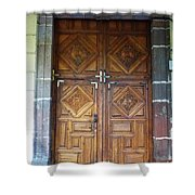 Mexican Door 29 Shower Curtain